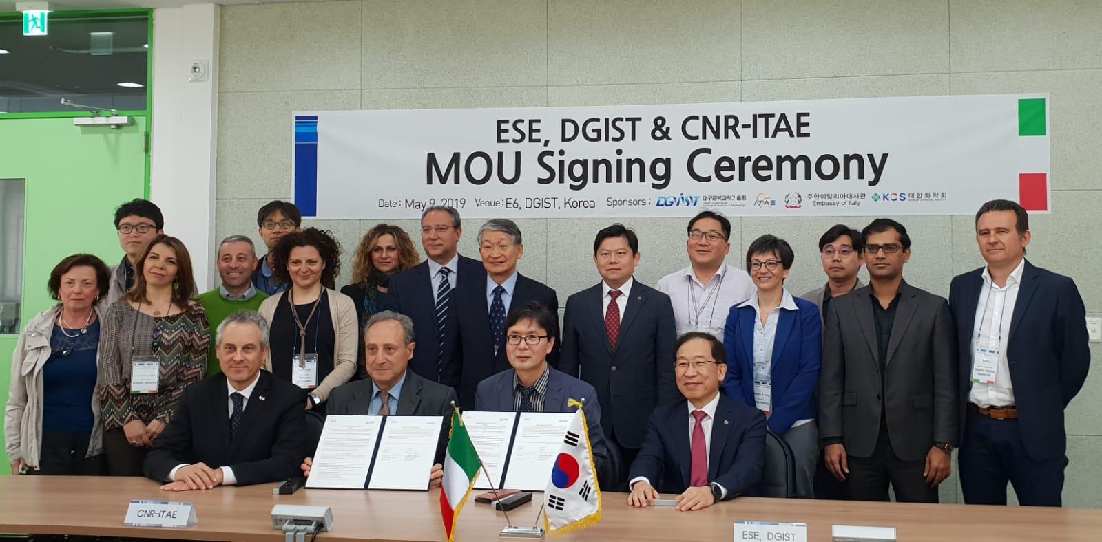 Simposio bilaterale Italia-Corea